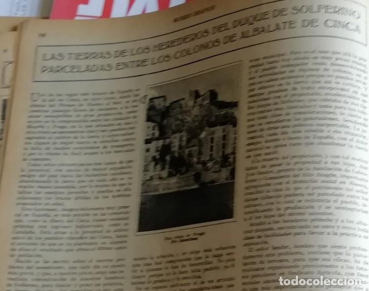 Coleccionismo de Revistas y Periódicos: mundo grafico 1931 VIGO - ZUMAYA -ALBALATE DE CINCA (HUESCA)-ALGEMESI - Foto 4 - 166907652