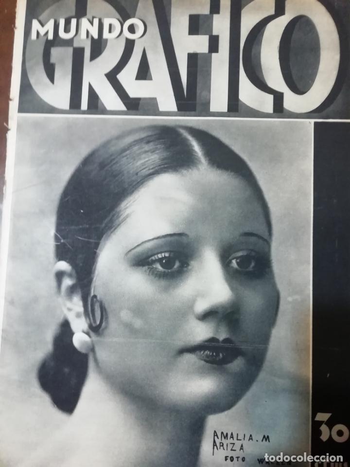 MUNDO GRAFICO 1931 VIGO - ZUMAYA -ALBALATE DE CINCA (HUESCA)-ALGEMESI (Coleccionismo - Revistas y Periódicos Antiguos (hasta 1.939))