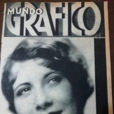 Coleccionismo de Revistas y Periódicos: MUNDO GRAFICO 1931 VIGO CITANIA MONTE CRISTO -EIBAR - MALAGA. Lote 166909168