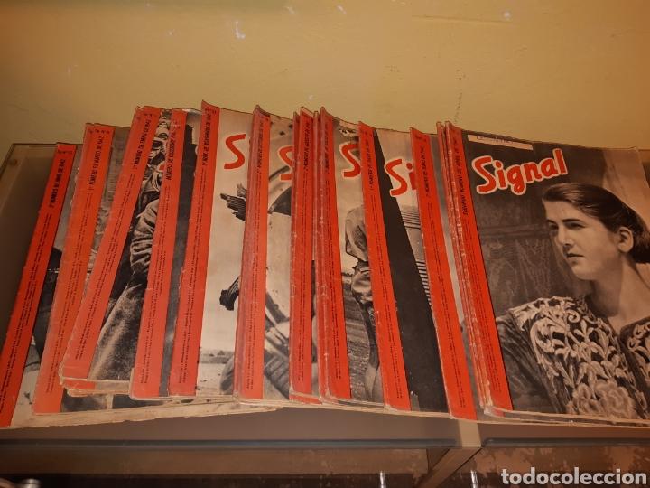 LOTE DE 29 REVISTAS SIGNAL (Coleccionismo - Revistas y Periódicos Modernos (a partir de 1.940) - Otros)