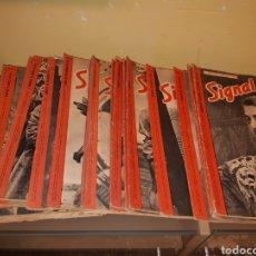 Coleccionismo de Revistas y Periódicos: LOTE DE 29 REVISTAS SIGNAL. Lote 180036168