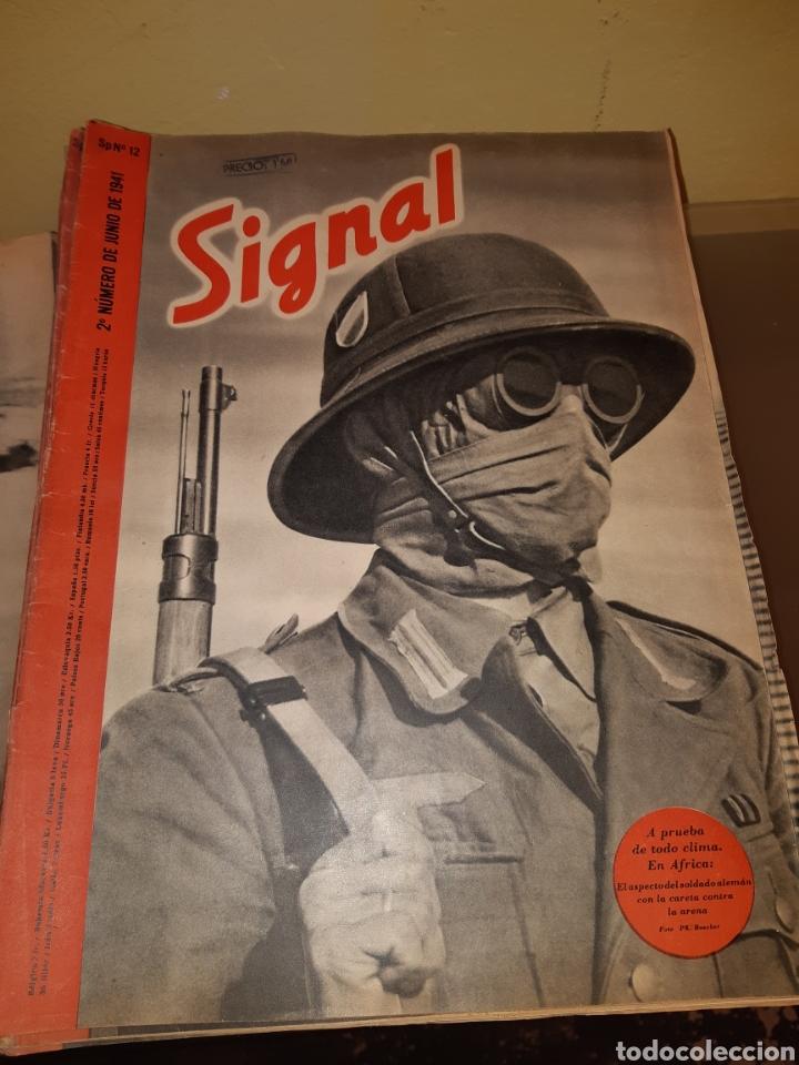 Coleccionismo de Revistas y Periódicos: Lote de 29 revistas Signal - Foto 2 - 180036168