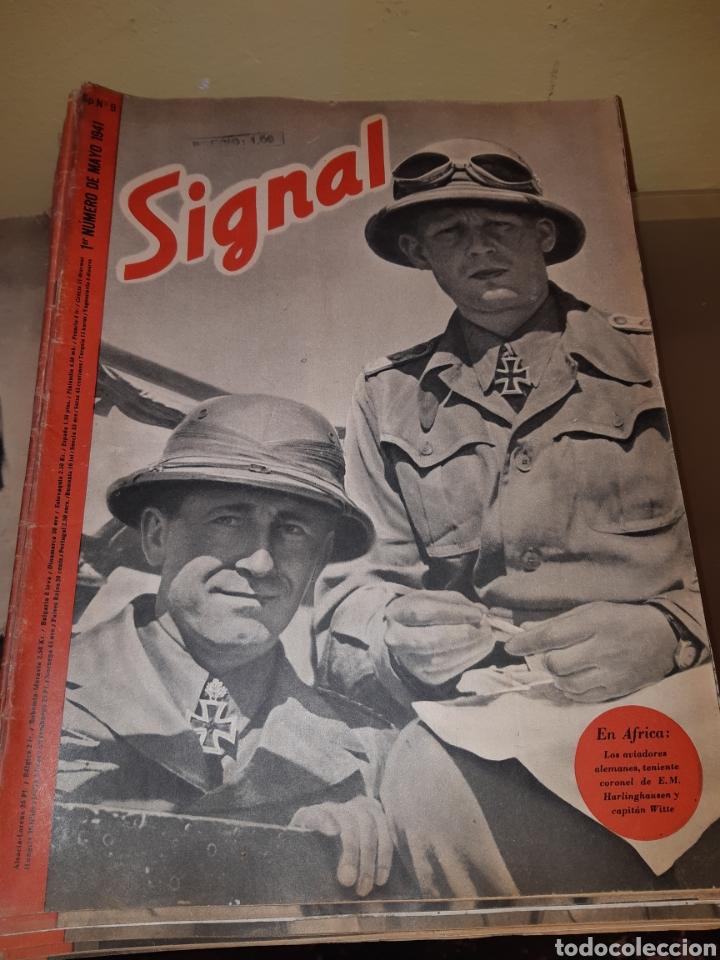 Coleccionismo de Revistas y Periódicos: Lote de 29 revistas Signal - Foto 3 - 180036168