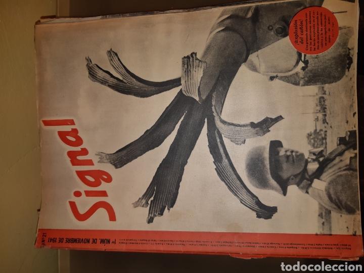 Coleccionismo de Revistas y Periódicos: Lote de 29 revistas Signal - Foto 4 - 180036168