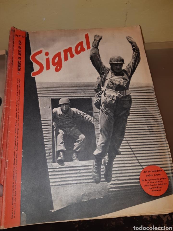 Coleccionismo de Revistas y Periódicos: Lote de 29 revistas Signal - Foto 6 - 180036168
