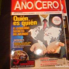 Coleccionismo de Revistas y Periódicos: LOTE 11 REVISTAS AÑO CERO. Lote 167024944