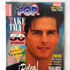 Coleccionismo de Revistas y Periódicos: REVISTA SUPER POP - SUPERPOP - Nº 437 - DICIEMBRE 1994 - BRAD PITT TOM CRUISE TAKE THAT. Lote 167050056