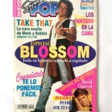 Coleccionismo de Revistas y Periódicos: REVISTA SUPER POP - SUPERPOP - Nº 436 - DICIEMBRE 1994 - BLOSSOM TAKE THAT. Lote 167050436