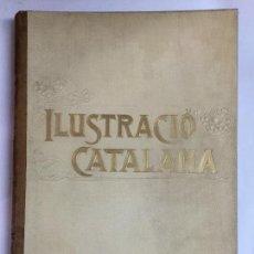 Coleccionismo de Revistas y Periódicos: ILUSTRACIÓ CATALANA. VOLUM ANY 1. SEGONA ÈPOCA.1903 DEL NÚM. 1 AL 30. 34X24 CM. 393 P. . Lote 167102024