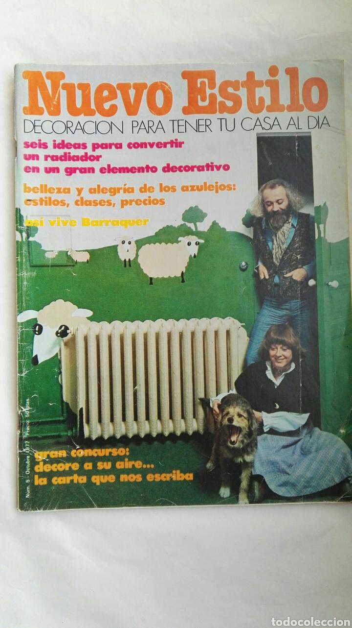 REVISTA NUEVO ESTILO N 5 OCTUBRE 1977 (Coleccionismo - Revistas y Periódicos Modernos (a partir de 1.940) - Otros)