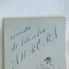 Coleccionismo de Revistas y Periódicos: AURORA REVISTA DE FILOSOFÍA N 3 JUNIO 1985. Lote 167185138
