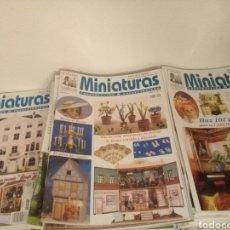 Coleccionismo de Revistas y Periódicos: REVISTA MINIATURAS CONSTRUCCIÓN Y COLECCIONISMO CASAS DE MUÑECAS DEL 1 AL 98. (92 NÚMEROS). Lote 167240892