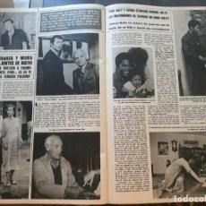 Coleccionismo de Revistas y Periódicos: CARLOS LARRAÑAGA MARIA LUISA MERLO JAMES DALY CHAD EVERETT. Lote 195153792
