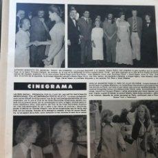 Coleccionismo de Revistas y Periódicos: URSULA ANDRESS LAUREN BACALL ALAINE PAGE EVITA TIM RICE LLOYD WEBER. Lote 195153751