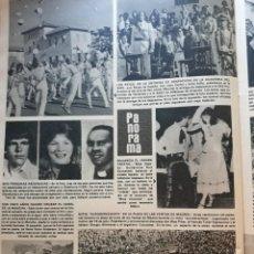 Coleccionismo de Revistas y Periódicos: GUILLERMINA RUIZ MISS ESPAÑA LOS REYES EN LA ENTREGA DE DESPACHOS DE LA ACADEMIA DEL AIRE. Lote 195153805