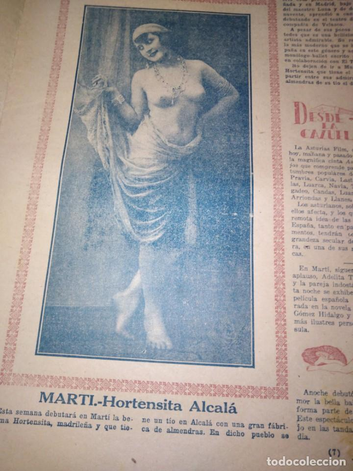 Coleccionismo de Revistas y Periódicos: LA POLITICA COMICA EROTICO SEMANARIO SATIRICO ILUSTRADO LA HABANA 1928 - Foto 4 - 167412832