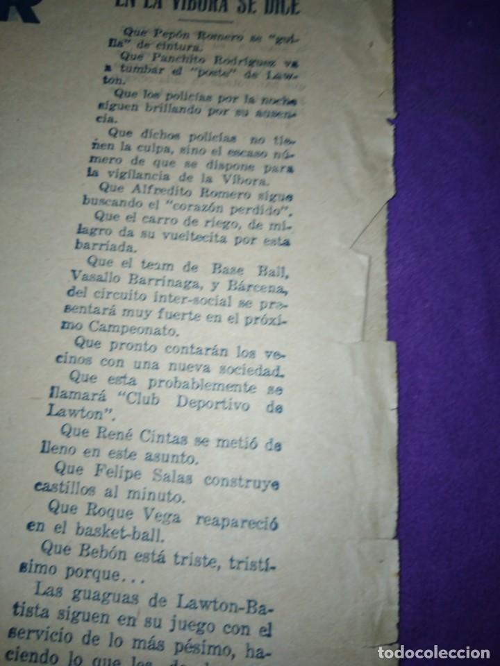 Coleccionismo de Revistas y Periódicos: LA POLITICA COMICA EROTICO SEMANARIO SATIRICO ILUSTRADO LA HABANA 1928 - Foto 6 - 167412832