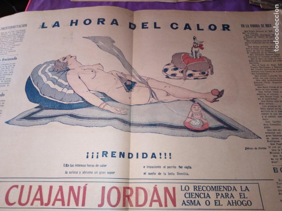 LA POLITICA COMICA EROTICO SEMANARIO SATIRICO ILUSTRADO LA HABANA 1928 (Coleccionismo - Revistas y Periódicos Antiguos (hasta 1.939))