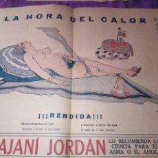 Coleccionismo de Revistas y Periódicos: LA POLITICA COMICA EROTICO SEMANARIO SATIRICO ILUSTRADO LA HABANA 1928. Lote 167412832