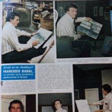 Coleccionismo de Revistas y Periódicos: PACO RABAL. Lote 167548816