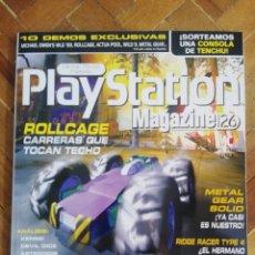 Coleccionismo de Revistas y Periódicos: REVISTA PLAYSTATION MAGAZINE NÚMERO 26 - INCLUYE CD. Lote 167572784