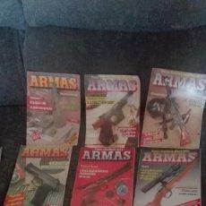 Coleccionismo de Revistas y Periódicos: 18 REVISTAS ARMAS, 1985-1992. Lote 167620024