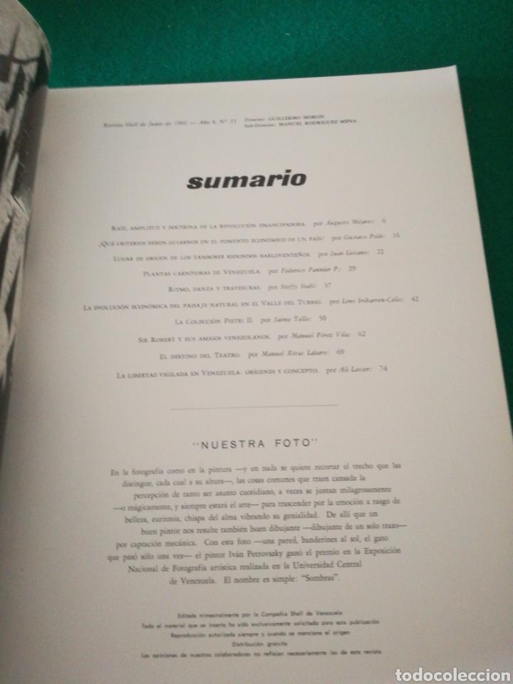 Coleccionismo de Revistas y Periódicos: REVISTA SHELL - Foto 5 - 167688373