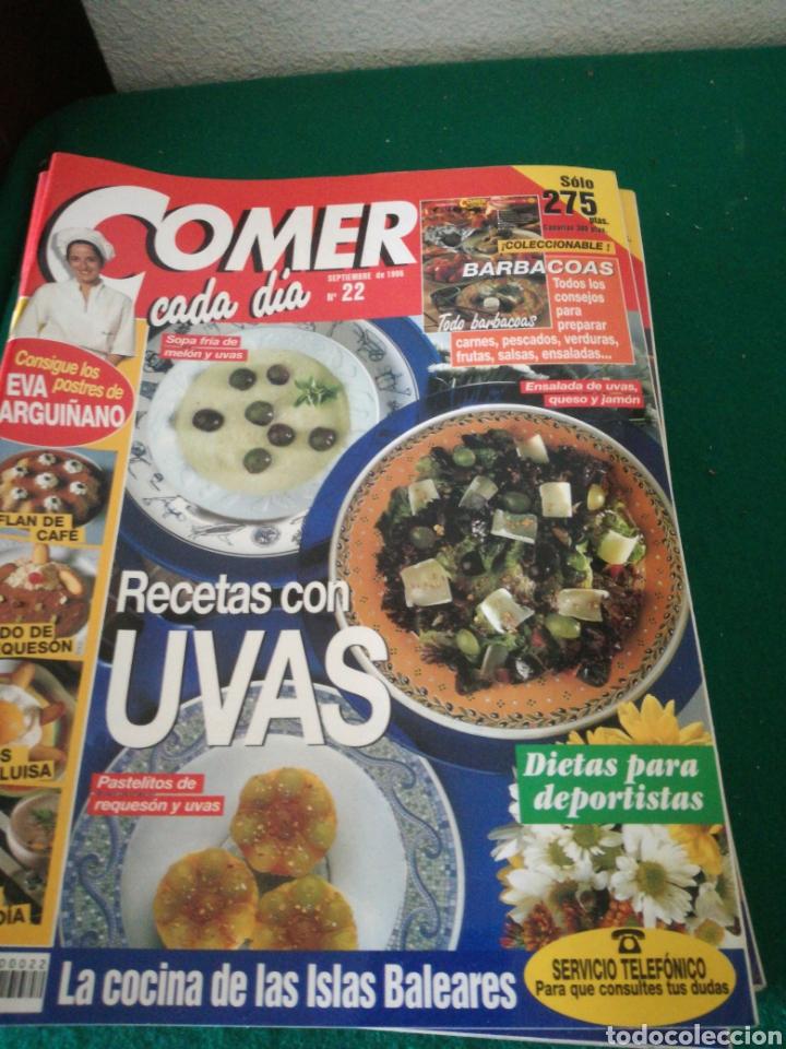 LOTE REVISTAS COMER CADA DIA (Coleccionismo - Revistas y Periódicos Modernos (a partir de 1.940) - Otros)