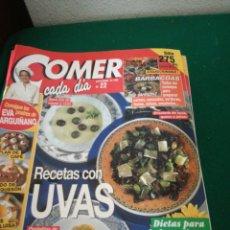 Coleccionismo de Revistas y Periódicos: LOTE REVISTAS COMER CADA DIA. Lote 167691996