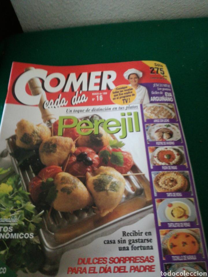 Coleccionismo de Revistas y Periódicos: LOTE REVISTAS COMER CADA DIA - Foto 2 - 167691996