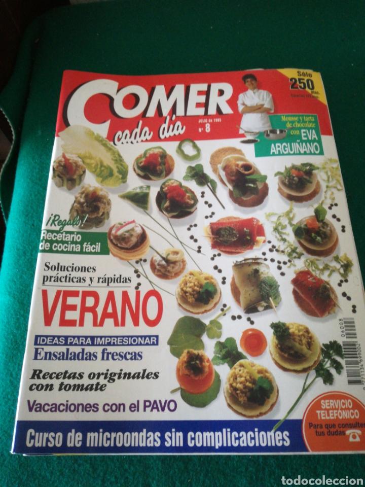 Coleccionismo de Revistas y Periódicos: LOTE REVISTAS COMER CADA DIA - Foto 3 - 167691996