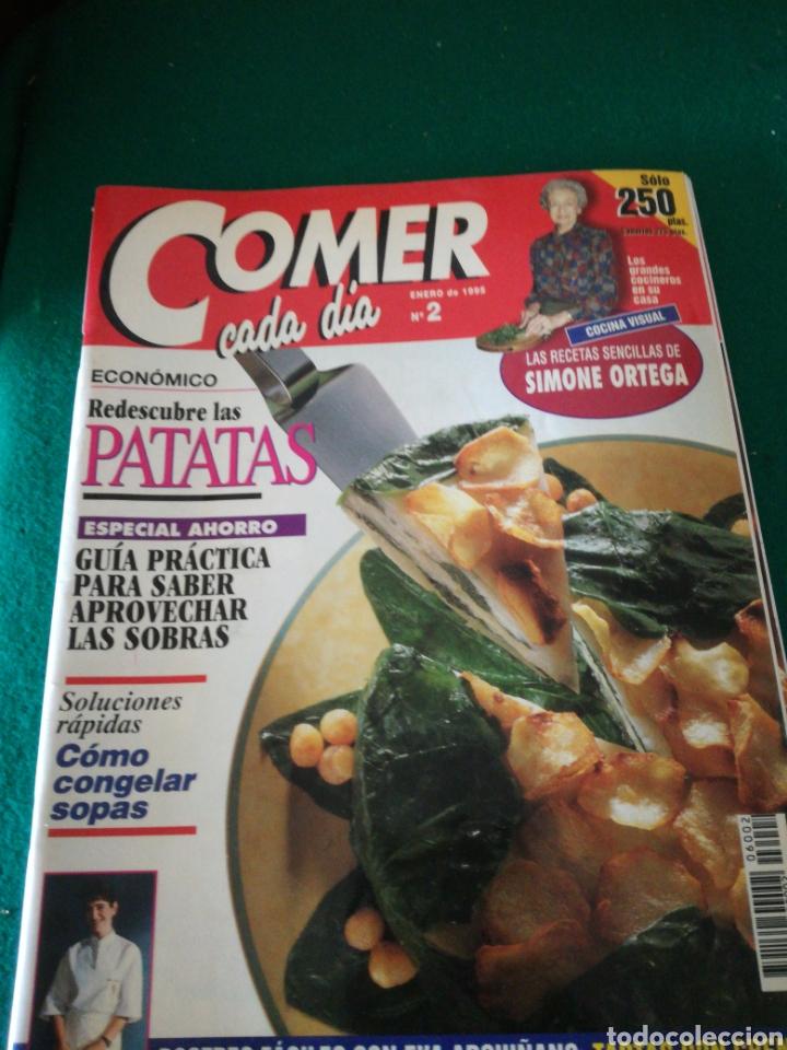 Coleccionismo de Revistas y Periódicos: LOTE REVISTAS COMER CADA DIA - Foto 4 - 167691996