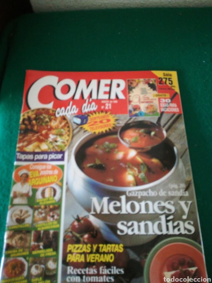 Coleccionismo de Revistas y Periódicos: LOTE REVISTAS COMER CADA DIA - Foto 5 - 167691996