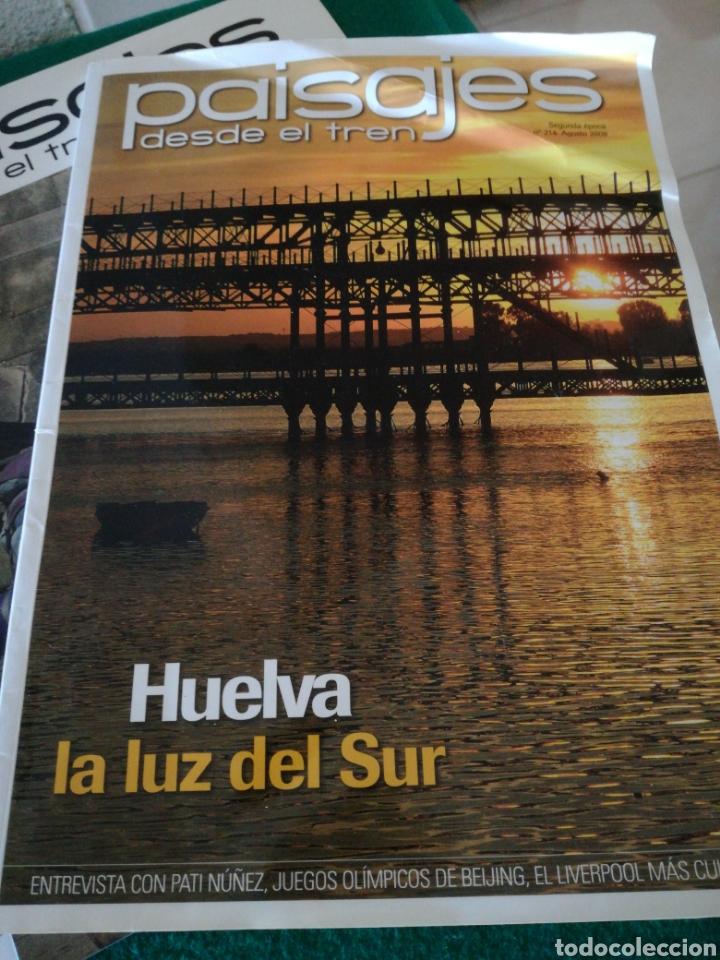Coleccionismo de Revistas y Periódicos: LOTE REVISTAS PAISAJES DESDE EL TREN - Foto 2 - 167692358