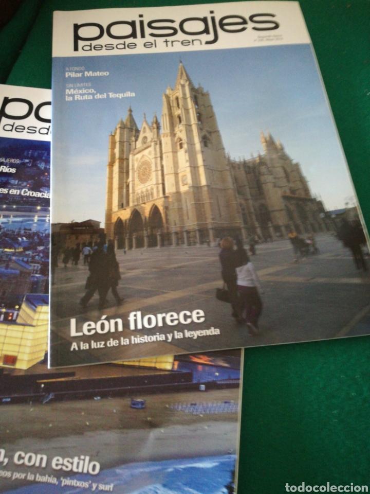 Coleccionismo de Revistas y Periódicos: LOTE REVISTAS PAISAJES DESDE EL TREN - Foto 4 - 167692358