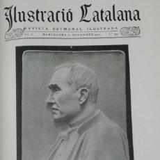 Coleccionismo de Revistas y Periódicos: ILUSTRACIÓ CATALANA Nº493 1912 FOTOS MOSSEN BOADA I ATENEU SANT FELIU DE GUIXOLS. Lote 167739252