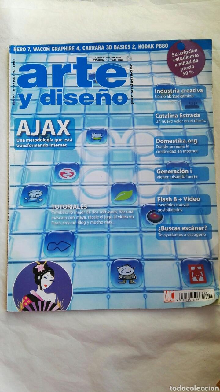 REVISTA ARTE Y DISEÑO POR ORDENADOR N 77 (Coleccionismo - Revistas y Periódicos Modernos (a partir de 1.940) - Otros)