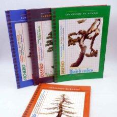 Coleccionismo de Revistas y Periódicos: CUADERNOS DE BONSAI. COMPLETA ALAMBRADO, BONSAI DE INTERIOR, DISEÑO CONÍFERAS… (VVAA) 1983. OFRT. Lote 180206031