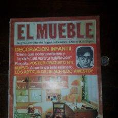 Coleccionismo de Revistas y Periódicos: REVISTA EL MUEBLE 1970. ALFREDO AMESTOY. Lote 167773045