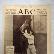 Coleccionismo de Revistas y Periódicos: PERIODICO ABC 7 JULIO 1932. Lote 167795348