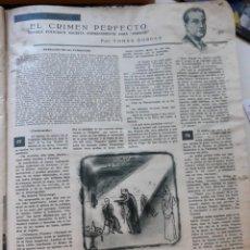 Coleccionismo de Revistas y Periódicos - 1953 tomas borras el crimen perfecto - 167812292