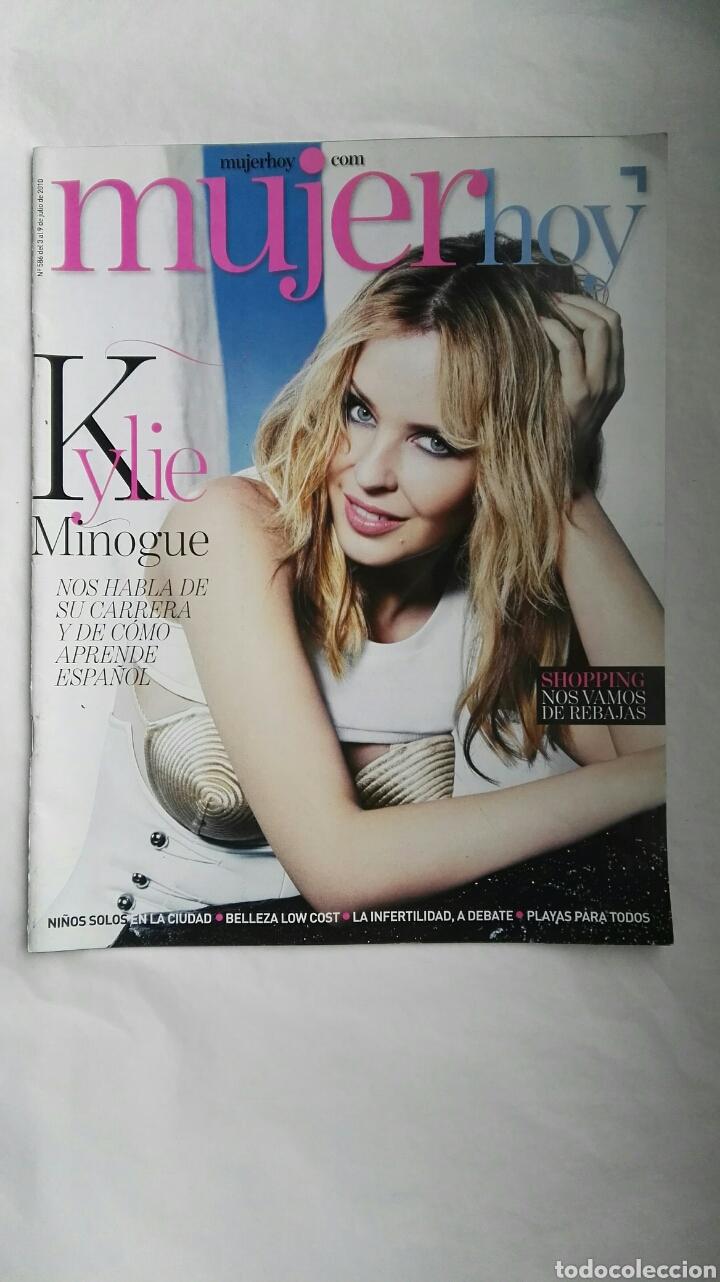 REVISTA MUJER HOY N 586 JULIO 2010 KYLIE MINOGUE (Coleccionismo - Revistas y Periódicos Modernos (a partir de 1.940) - Otros)