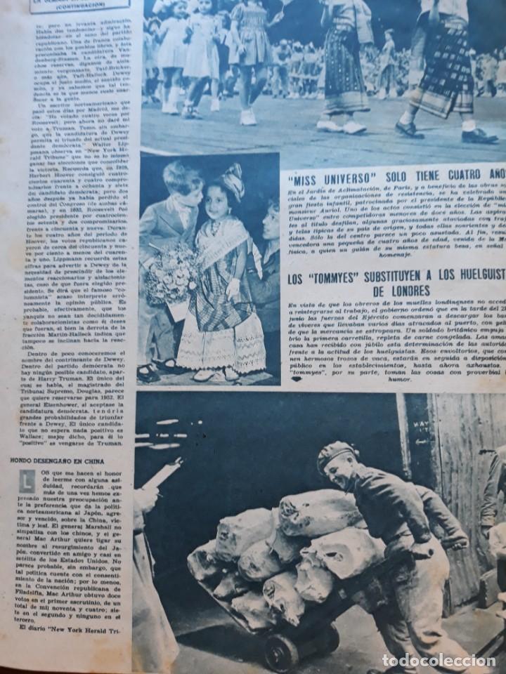 1948 MISS UNIVERSO TIENE 4 AÑOS LOS TOMMYES (Coleccionismo - Revistas y Periódicos Modernos (a partir de 1.940) - Otros)