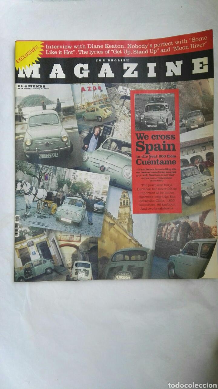 MAGAZINE EL MUNDO 2007 SEAT 600 (Coleccionismo - Revistas y Periódicos Modernos (a partir de 1.940) - Otros)