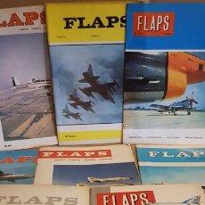 Coleccionismo de Revistas y Periódicos: FLAPS / AERONÁUTICA-ASTRONÁUTICA-VOLOVELISMO-AEROMODELISMO / LOTE DE 8 REVISTAS. LEER.. Lote 168083752