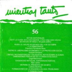 Coleccionismo de Revistas y Periódicos: MIENTRAS TANTO - Nº 56 - DICIEMBRE 1993 / ENERO 1994. Lote 168094204