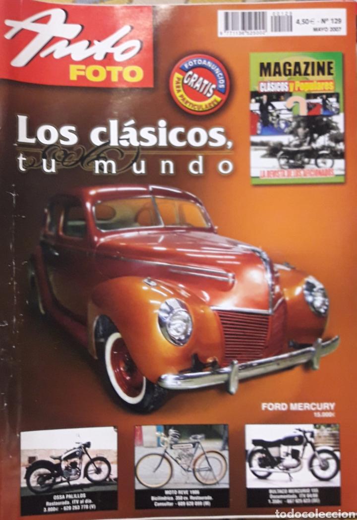 REVISTAS AUTO FOTO N 129 2007 (Coleccionismo - Revistas y Periódicos Modernos (a partir de 1.940) - Otros)