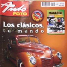 Coleccionismo de Revistas y Periódicos: REVISTAS AUTO FOTO N 129 2007. Lote 168098297