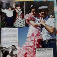 Coleccionismo de Revistas y Periódicos: JOSE CARRERAS ROCIO JURADO ROCIITO PEDRO CARRASCO CARMEN ROMERO. Lote 168100624
