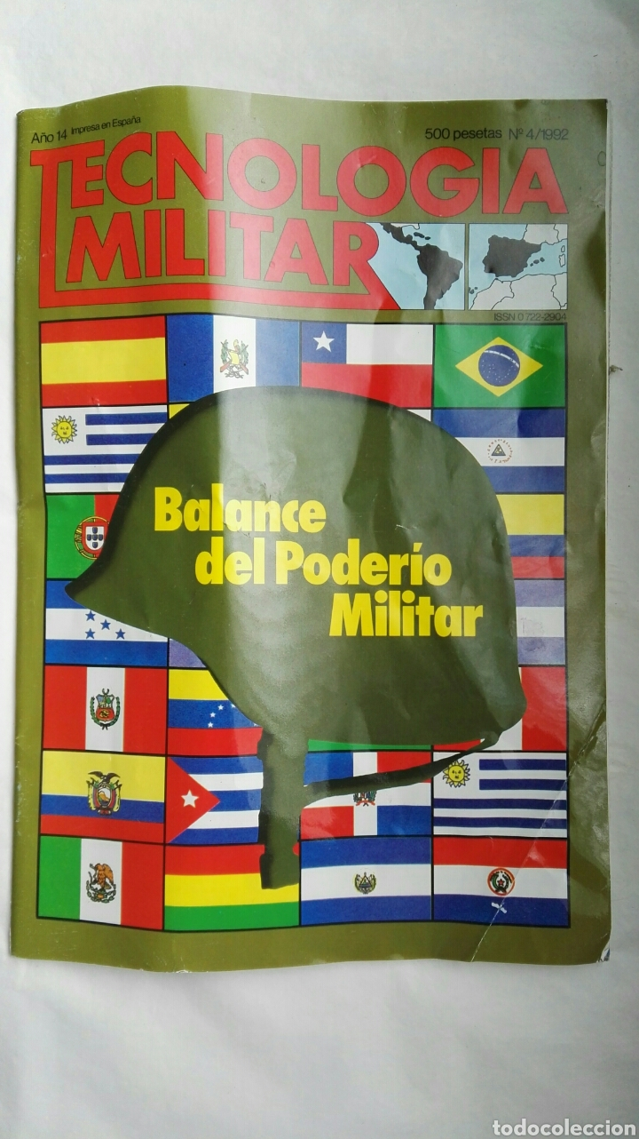 REVISTA TECNOLOGÍA MILITAR N 4 1992 (Coleccionismo - Revistas y Periódicos Modernos (a partir de 1.940) - Otros)